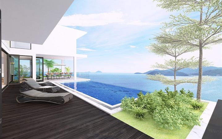Thiết kế – thi công biệt thự biển