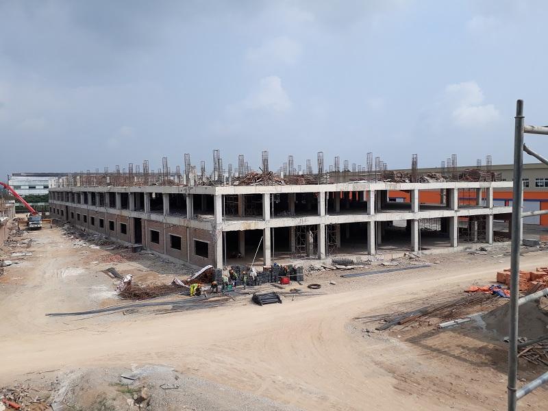 Thi công nhà xưởng KCN Quế Võ Bắc Ninh
