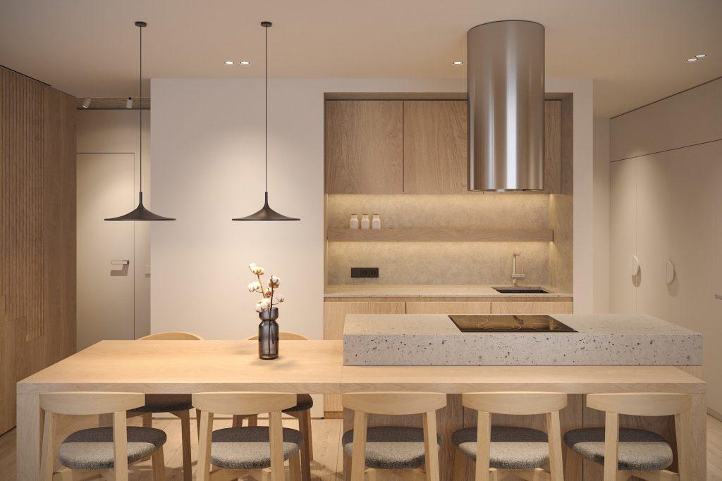 Thiết kế thi công căn hộ của chị Xuân Anh – Gia Lâm, Hà Nội