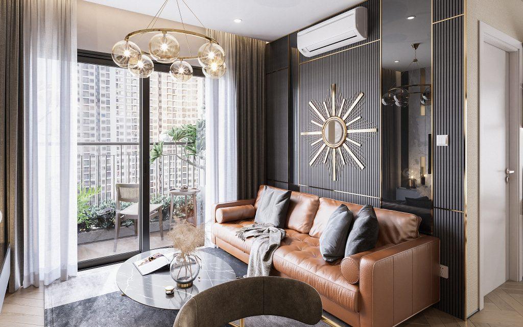 Thiết kế thi công căn hộ của chị Thúy – Vinhomes Smart, Hà Nội