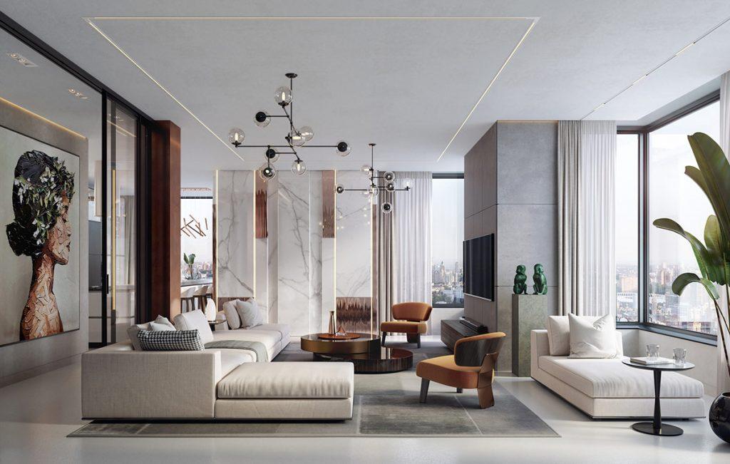 Thi công căn hộ của anh Bảo – R2 Royal City, Hà Nội
